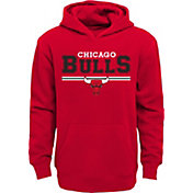 Outerstuff Youth Chicago Bulls Red Pullover Hoodie