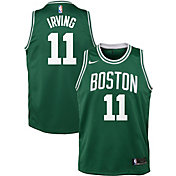 Nike Youth Boston Celtics Kyrie Irving #11 Kelly Green Dri-FIT Swingman Jersey