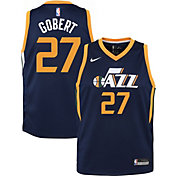 Nike Youth Utah Jazz Rudy Gobert #27 Navy Dri-FIT Swingman Jersey