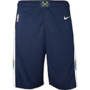 Nike Youth Denver Nuggets Dri-FIT Navy Swingman Shorts