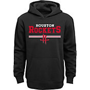 Outerstuff Youth Houston Rockets Black Pullover Hoodie