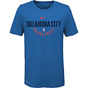 Nike Youth Oklahoma City Thunder Dri-FIT Blue Practice T-Shirt