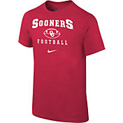 Nike Youth Oklahoma Sooners Crimson 1997 Retro Football T- Shirt