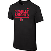 Nike Youth Rutgers Scarlet Knights Local Verbiage Black T-Shirt
