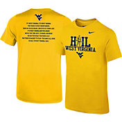 Nike Youth West Virginia Mountaineers Gold 'Hail West Virginia' 2017 Fan T-Shirt
