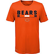 Nike Youth Chicago Bears Legend Staff Performance Orange T-Shirt