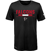 Nike Youth Atlanta Falcons Legend Staff Performance Black T-Shirt