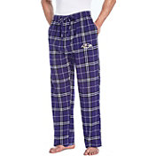Concepts Sport Men's Baltimore Ravens Huddle Flannel Pants