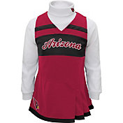 NFL Team Apparel Girls' Arizona Cardinals Cheer Jumper Dress