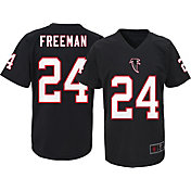 NFL Team Apparel Youth Atlanta Falcons Devonta Freeman #24 Black T-Shirt