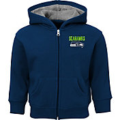NFL Team Apparel Toddler Seattle Seahawks Red Zone Full-Zip Hoodie