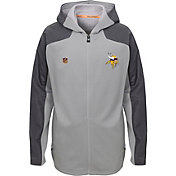 NFL Team Apparel Youth Minnesota Vikings Delta Full-Zip Jacket