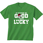 New World Graphics Men's Georgia Bulldogs Green St. Patrick's Day T-Shirt