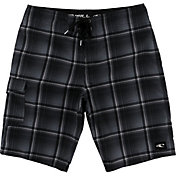 O'Neill Men's Santa Cruz Plaid 21'' Board Shorts