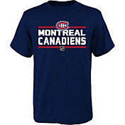 NHL Youth Montreal Canadiens Epitome Navy T-Shirt