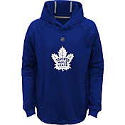 NHL Youth Toronto Maple Leafs Mach Royal Pullover Hoodie