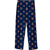 NHL Youth Florida Panthers Team Logo Navy Sleep Pants