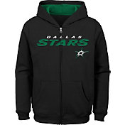 NHL Youth Dallas Stars Stated Black Full-Zip Hoodie