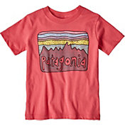 Patagonia Girls' Fitz Roy Skies Organic T-Shirt