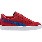 PUMA Kids' Grade School Classic Suede Shoes