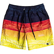 Quiksilver Little Boys' Word Waves Volley Board Shorts