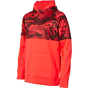 Reebok Boys' Performance Fleece Printed Hoodie