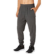 Reebok Men's Heather Cotton Fleece Jogger Pants