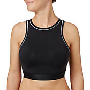Reebok Women's Cotton High Neck Sports Bra