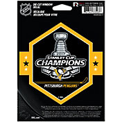 Rico 2017 Stanley Cup Champions Pittsburgh Penguins Die-Cut Decal