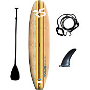 Rave Sports Bamboo Soft Top Stand-Up Paddle Board