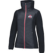 Scarlet & Gray Women's Ohio State Buckeyes Home Team II Black Jacket