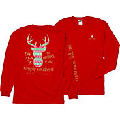 Simply Southern Women's Deer Long Sleeve T-Shirt