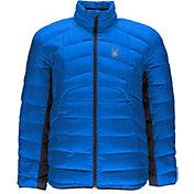 Spyder Men's Geared Full Zip Synthetic Down Jacket