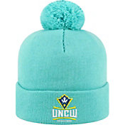 Top of the World Men's UNC-Wilmington  Seahawks Teal Pom Knit Beanie