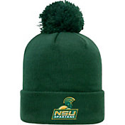 Top of the World Men's Norfolk State Spartans Green Pom Knit Beanie