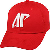 Top of the World Men's Austin Peay Governors Red Crew Adjustable Hat