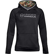 Under Armour Boys' Armour Fleece Stacked Logo Hoodie