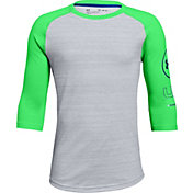 Under Armour Boys' MVP Utility ¾ Sleeve Shirt