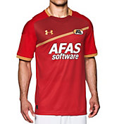 Under Armour Men's AZ Alkmaar 17/18 Replica Home Stadium Jersey