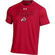 Under Armour Men's Utah Utes Crimson Tech T-Shirt