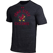 Under Armour Men's Iowa State Cyclones Black Tri-Blend T-Shirt