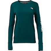 Under Armour Women's Featherweight Fleece Crewneck Sweatshirt