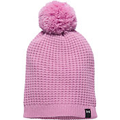Under Armour Women's Favorite Waffle Pom Beanie