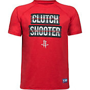 "Under Armour Youth Houston Rockets ""Clutch Shooter"" Red Tech Performance T-Shirt"