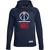 Under Armour Youth Washington Wizards Navy Lockup Fleece Hoodie