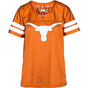 University of Texas Authentic Apparel Women's Texas Longhorns Burnt Orange Bowie Football Jersey