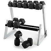 Weider 200 Lb. Dumbbell Set with Rack
