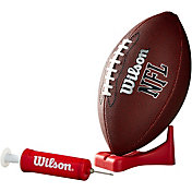 Wilson MVP Pee Wee Football w/ Pump and Tee