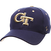 Zephyr Men's Georgia Tech Yellow Jackets Navy ZH ZClassic Flexfit Hat