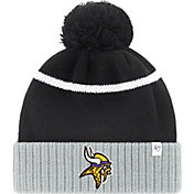 '47 Men's Minnesota Vikings Black Pom Knit